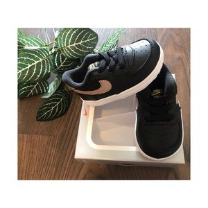 NIKE AIR FORCE 1 CRIB BABY GYM SHOES SIZE …